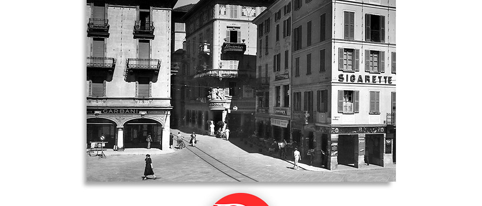 Lugano via Perseghini anno 1945 c.a.