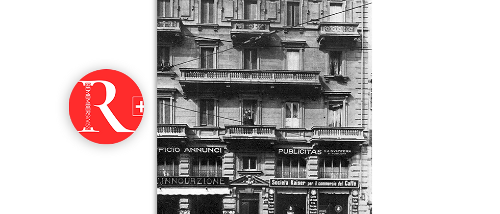 Lugano la prima Innovazione primi '900