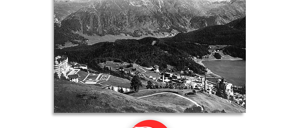 St.Moritz panorama anno 1940 c.a.