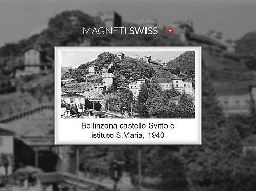 Bellinzona castello Svitto e istituto S.Maria, 1940