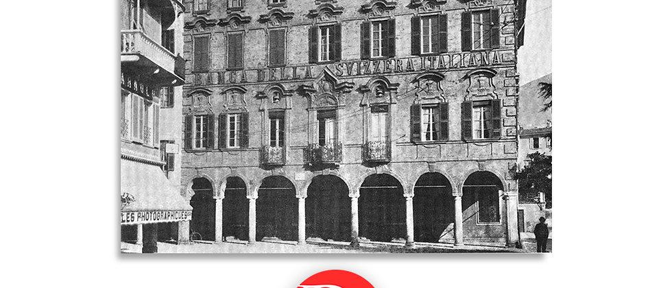 Lugano palazzo Riva primi '900