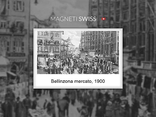 Bellinzona mercato, 1900