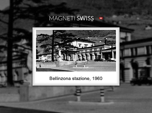 Bellinzona stazione, 1960