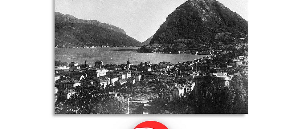 Lugano e monte S.Salvatore primi '900