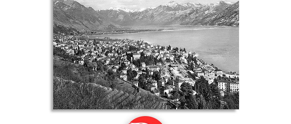 Locarno panorama anno 1950 c.a.