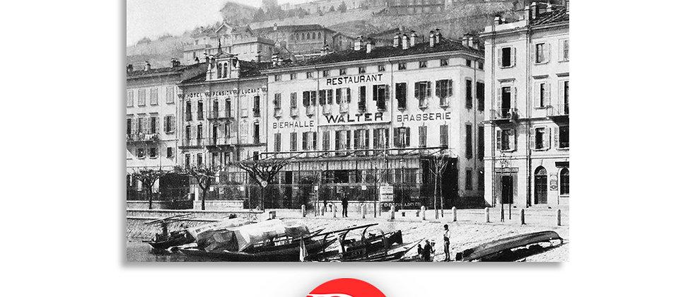 Lugano Hotel Walter anno 1938 c.a.