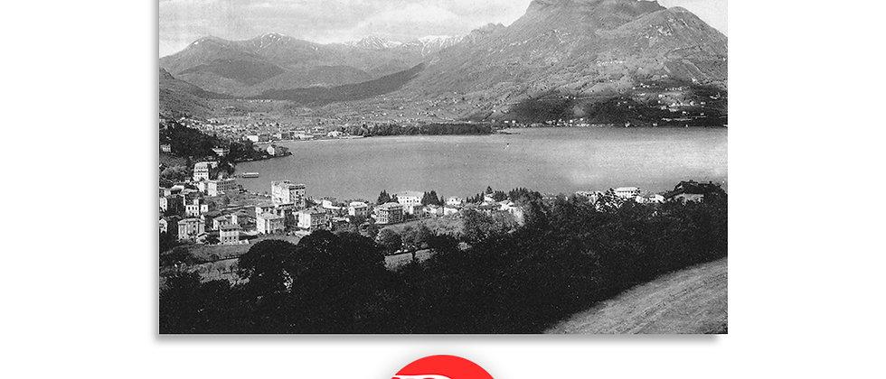 Lugano Paradiso panorama anno 1935 c.a.