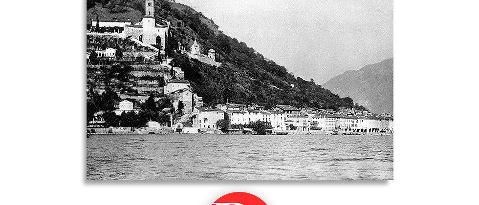 Morcote panorama anno 1940 c.a.