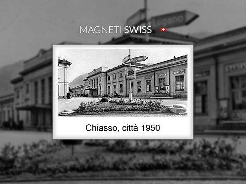 Chiasso, città 1950