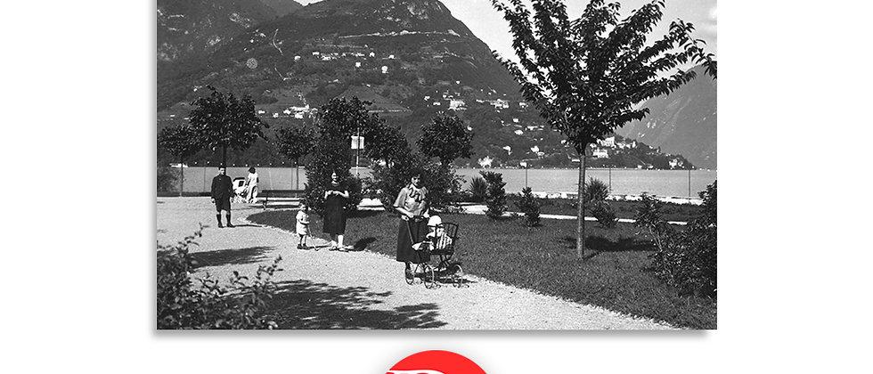 Lugano lungolago anno 1945 c.a.