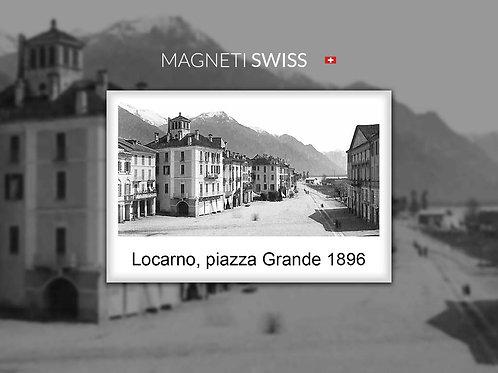 Locarno, piazza Grande 1896