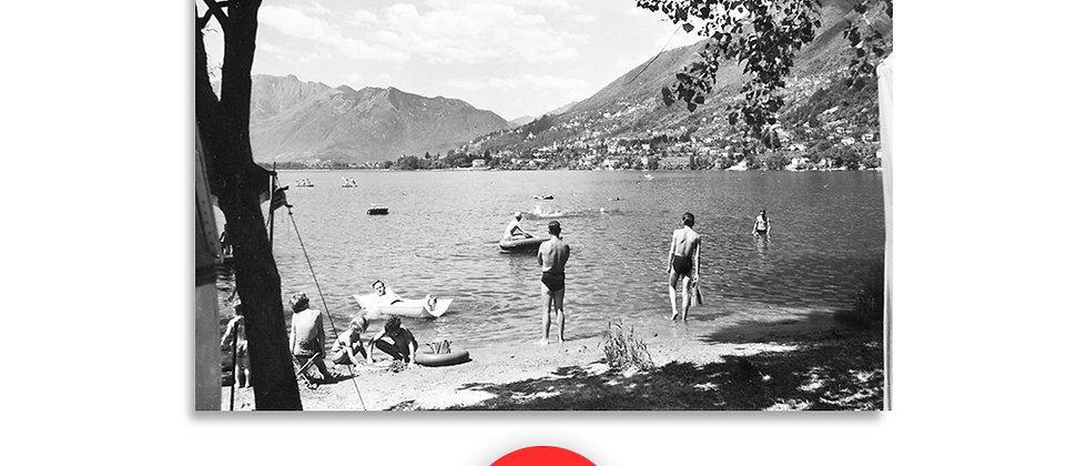 Camping Tenero anno 1960 c.a.
