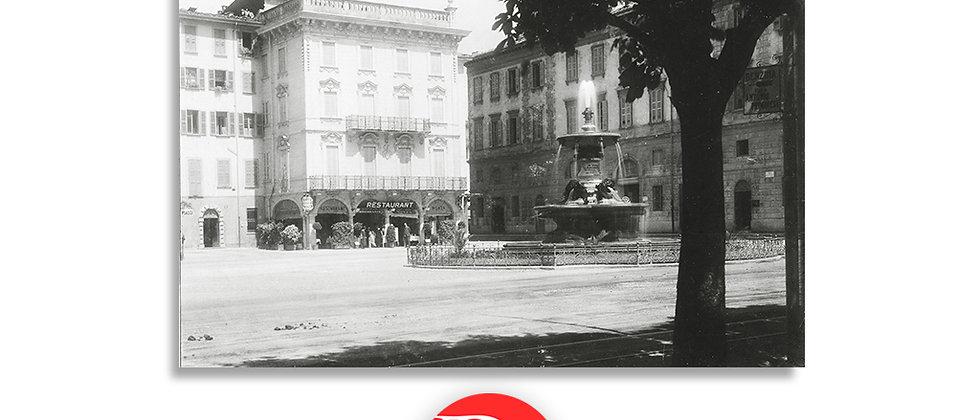 Lugano fontana Bossi anno 1905 c.a.