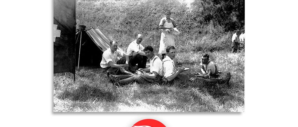 Militari in accampamento anno 1928 c.a.