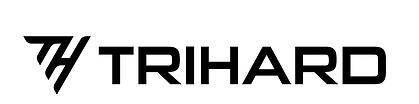 TriHard Logo B&W.png