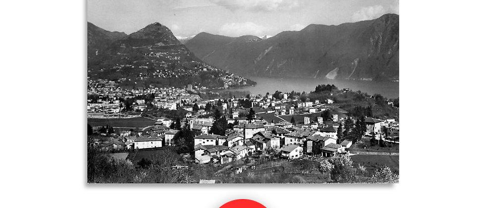Bregazzona panorama anno 1920 c.a.