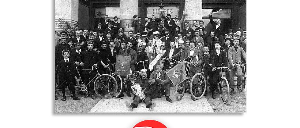 """Lugano, società sportiva """"La Veloce"""" anno 1890 c.a."""
