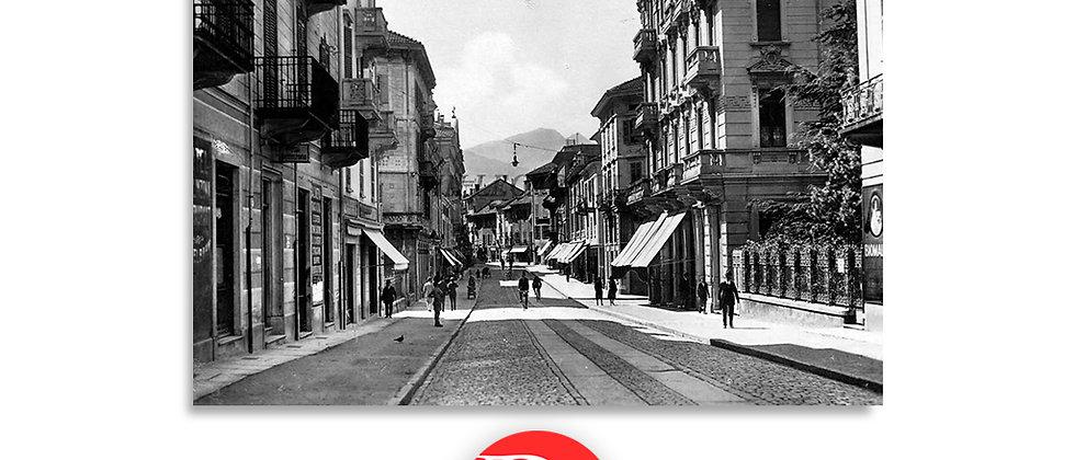 Bellinzona viale Stazione 1930 c.a.