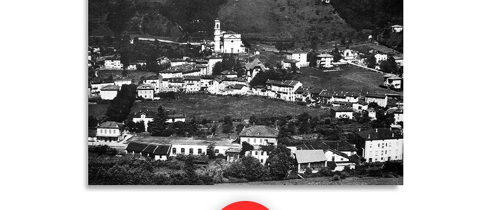 Agno paese anno 1945 c.a.