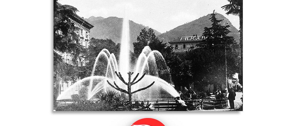 Lugano piazza Manzoni anno 1955 c.a.