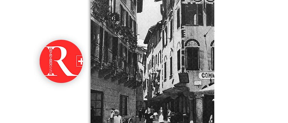 Lugano via Pessina primi '900