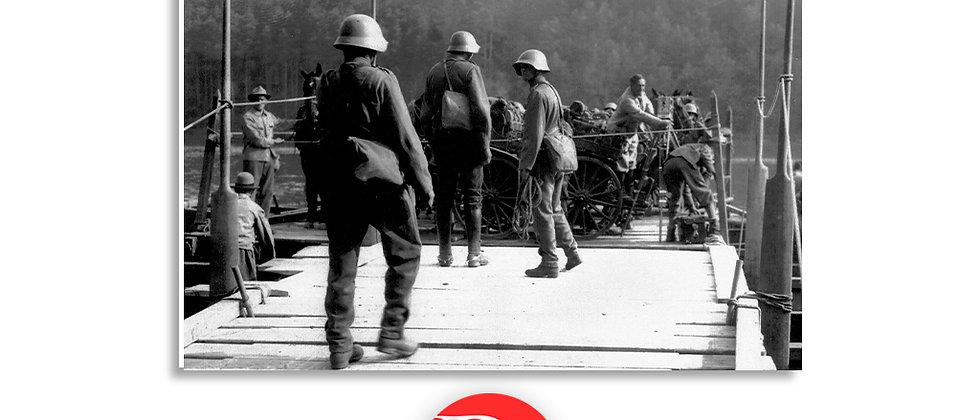 Soldati pronti a salpare anno 1928 c.a.