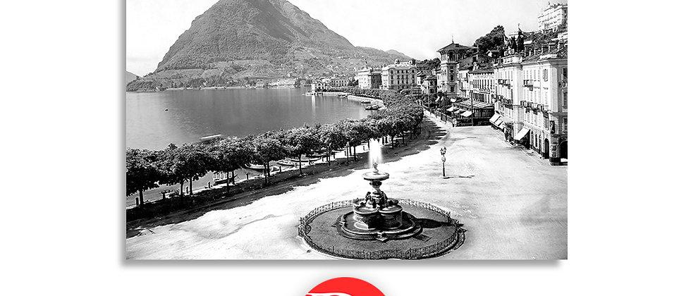Lugano il Quai anno 1901 c.a.
