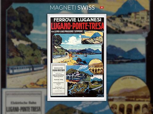 Ferrovie luganesi, Lugano - Ponte Tresa