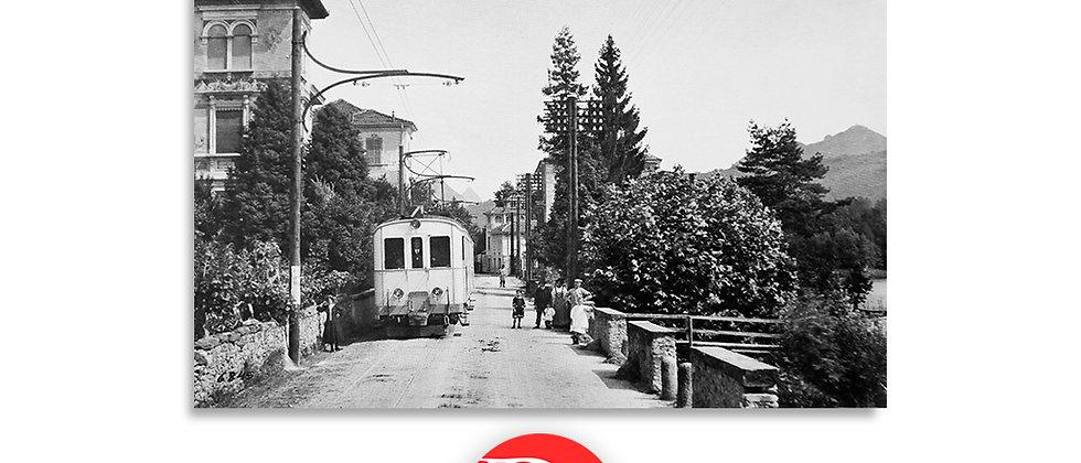 Ferrovia Ponte Tresa - Lugano primi '900