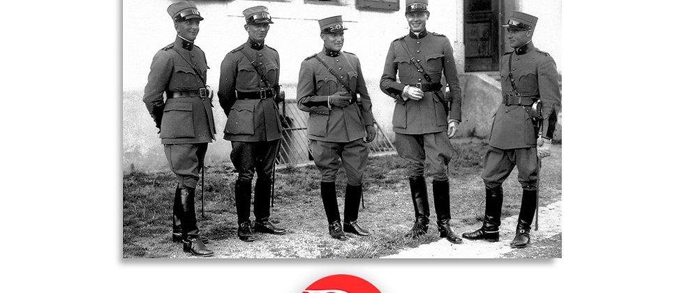 Ufficiali, foto di gruppo anno 1928 c.a.