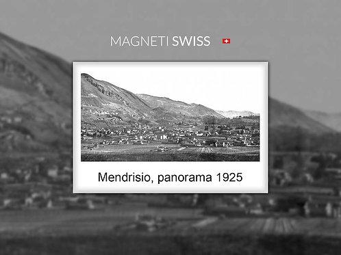 Mendrisio, panorama 1925