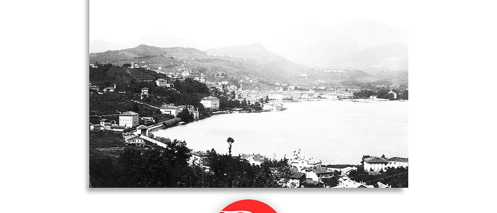 Lugano veduta anno 1880 c.a.