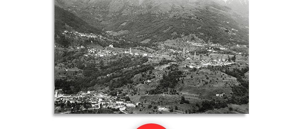 Capriasca panorama anno 1950 c.a.