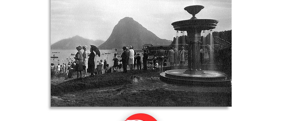 Lugano il lido anno 1930 c.a.