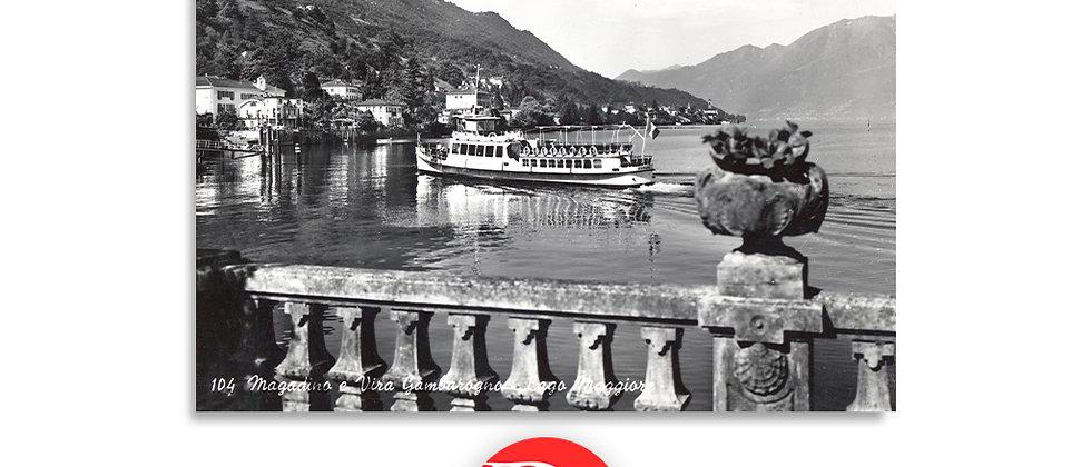 Megadino e battello anno 1950 c.a.