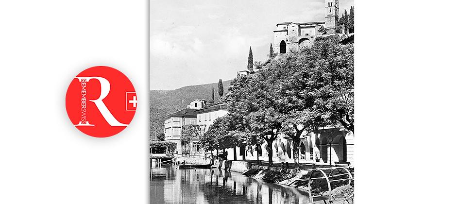 Morcote particolare anno 1940 c.a.