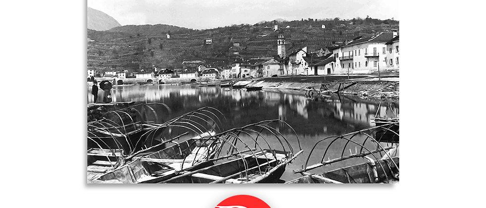 Ascona porto anno 1890 c.a.