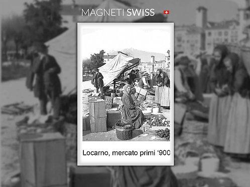 Locarno, mercato primi '900