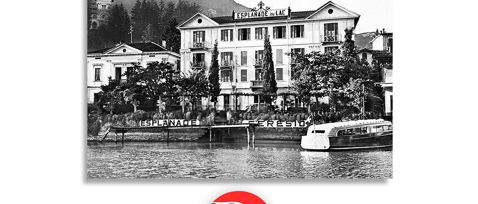Lugano Hotel Esplanade anno 1955 c.a.