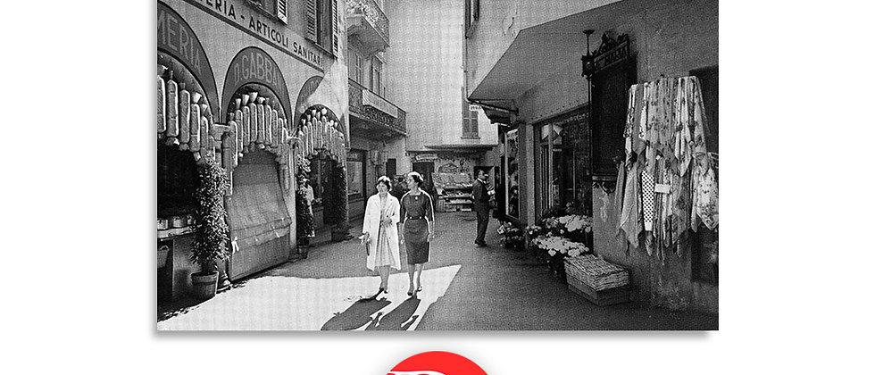 Lugano via Pessina anno 1955 c.a.