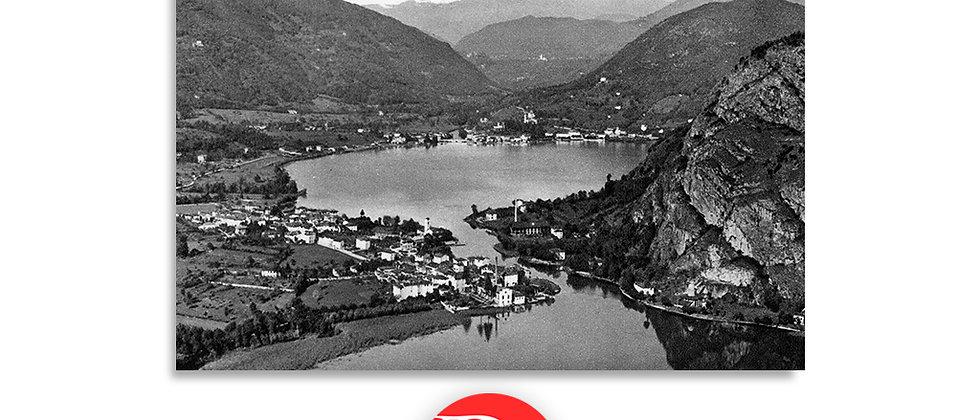 Lavena Ponte Tresa panorama anno 1930 c.a.