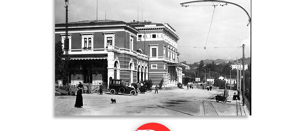 Lugano stazione anno 1920 c.a.