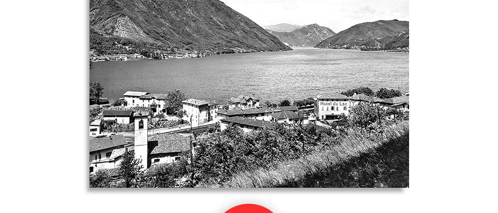 Capolago panorama anno 1940 c.a.