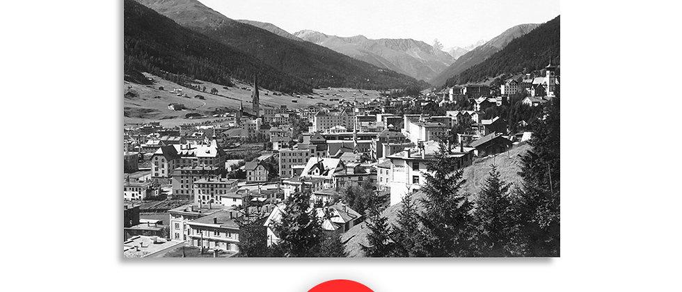 Davos Platz panorama anno 1930 c.a.