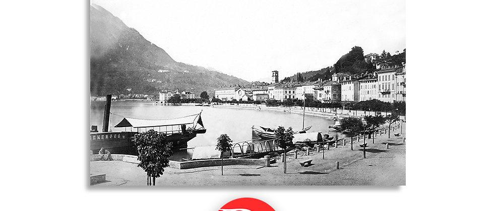 Lugano lungolago anno 1875 c.a.