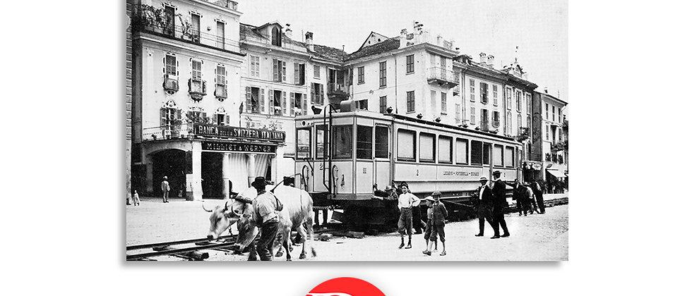 Ferrovia Locarno - Ponte Brolla primi '900