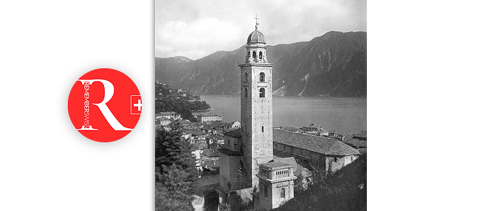 Lugano Cattedrale anno 1930 c.a.