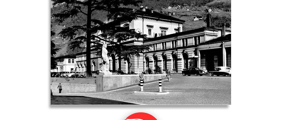 Bellinzona stazione anni '60