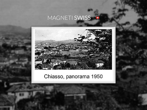 Chiasso, panorama 1950