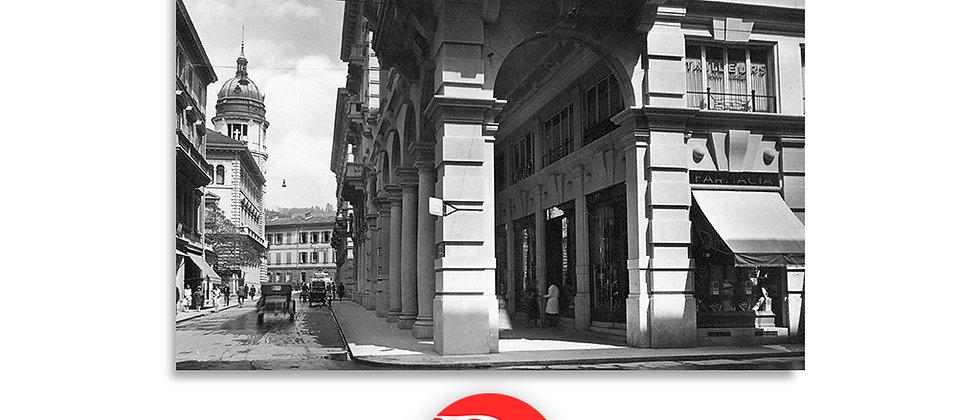 Lugano via della Posta anno 1930 c.a.
